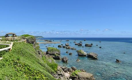 写真:東平安名岬
